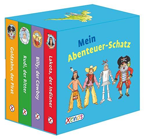 9783845505664: Mein Abenteuer-Schatz: 4 Pappenbücher im Schuber