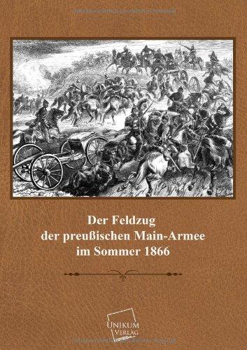 9783845701097: Der Feldzug Der Preussischen Main-Armee