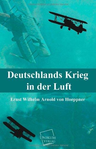 9783845702315: Deutschlands Krieg in Der Luft