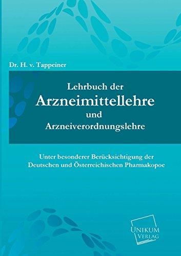 9783845703121: Lehrbuch Der Arzneimittellehre Und Arzneiverordnungslehre