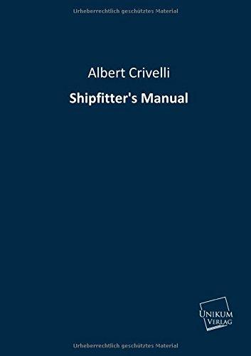 9783845711096: Shipfitter's Manual