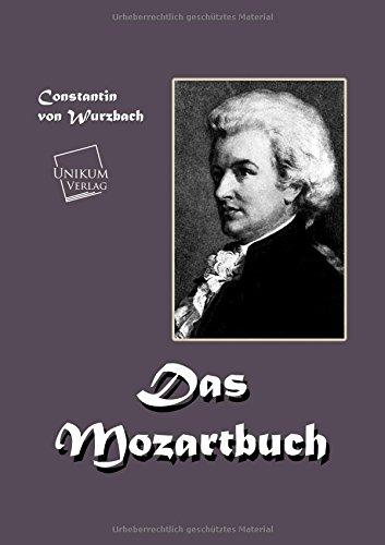Das Mozart-Buch: Constantin von Wurzbach
