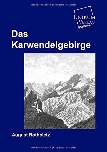 9783845720296: Das Karwendelgebirge