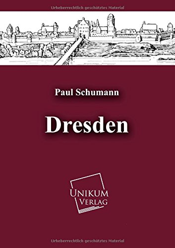 9783845721385: Dresden