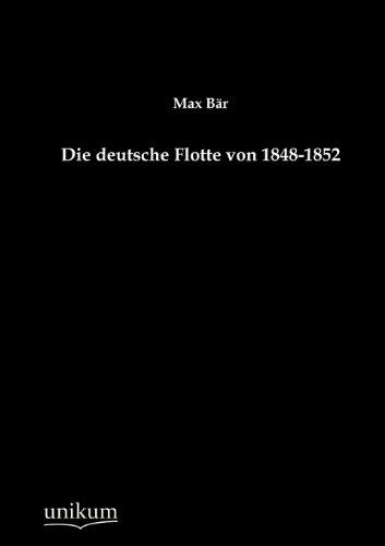 Die deutsche Flotte von 1848-1852: Max Bär