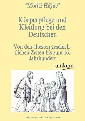 9783845723266: Körperpflege und Kleidung bei den Deutschen