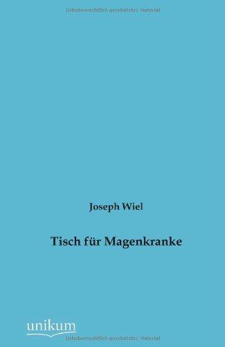 9783845742830: Tisch f�r Magenkranke