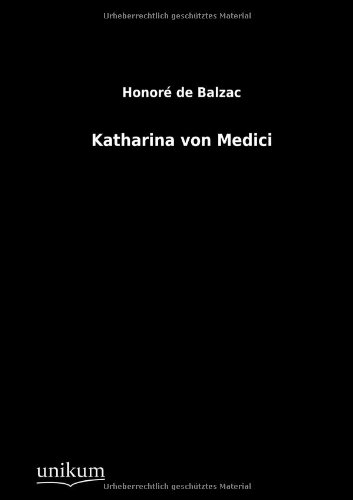 9783845790022: Katharina Von Medici