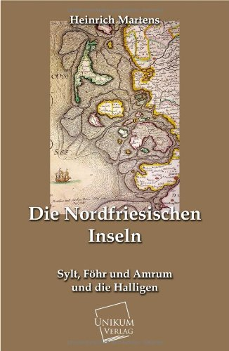9783845790428: Die Nordfriesischen Inseln