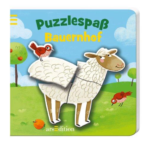 9783845800288: Bauernhof Puzzlespa�