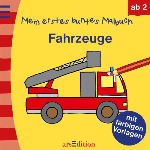 9783845802084: Mein erstes buntes Malbuch - Fahrzeuge