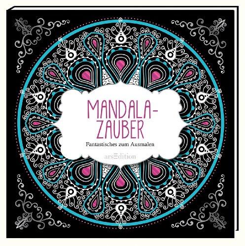 9783845804880: Malbuch für Erwachsene: Mandala-Zauber: Fantastisches zum Ausmalen