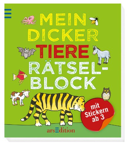 9783845804934: Mein dicker Tiere-Rätselblock