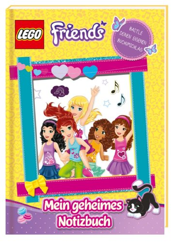 LEGO Friends: Mein geheimes Notizbuch ; Deutsch; ca. 128 S. - Diverse