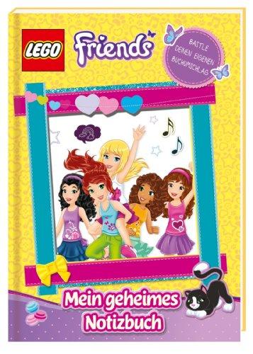 LEGO Friends: Mein geheimes Notizbuch ; Deutsch; ca. 128 S. - Diverse