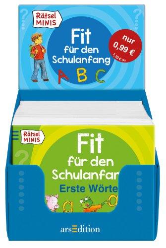 9783845805924: R�tsel-Minis Fit f�r den Schulanfang; (Display m. 100 Ex.) ; Deutsch