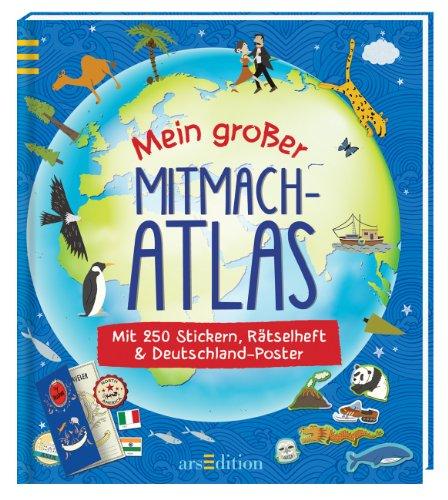 9783845807003: Mein großer Mitmach-Atlas