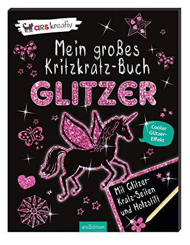 9783845807225: Mein großes Kritzkratz-Buch Glitzer