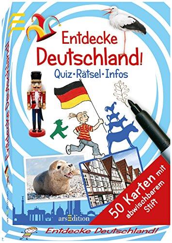9783845809465: Entdecke Deutschland!: Quiz - Rätsel - Infos