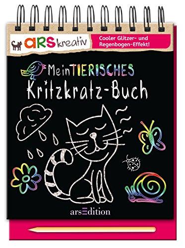 9783845809854: Mein tierisches Kritzkratz-Buch