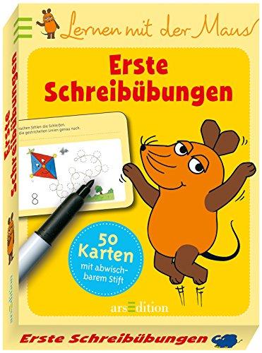 9783845810010: Lernen mit der Maus - Erste Schreib�bungen