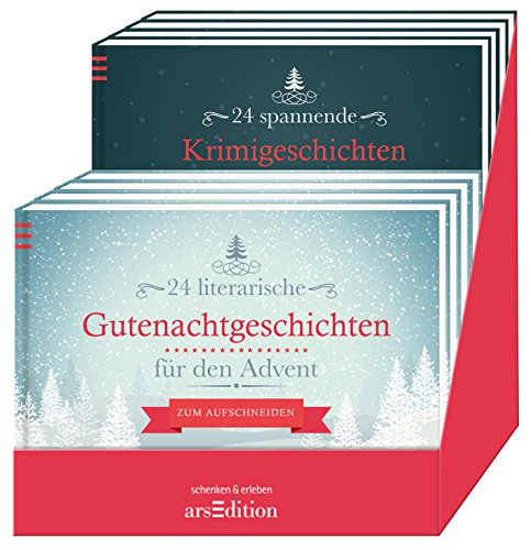 9783845811871: Display Geschichten f�r den Advent: mit 2 x 6 Ex
