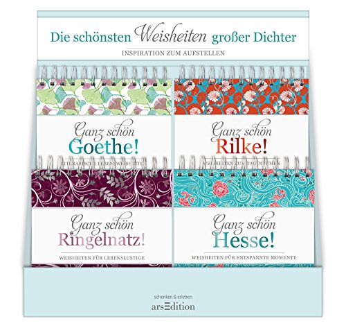 9783845812335: Display Ganz schön Goethe: mit 4 x 4 Ex