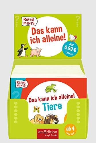 Display Rätsel-Minis Das kann ich alleine!: Marlit Peikert