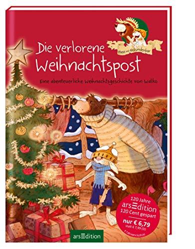 9783845814247: Hase und Holunderbär - Die verlorene Weihnachtspost (Jubiläumstitel)