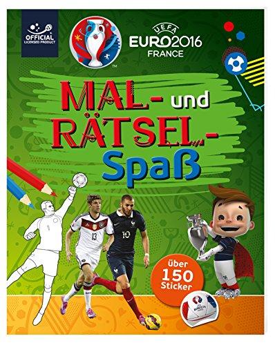 9783845814704: UEFA EURO 2016 - Mal- und Rätselspaß