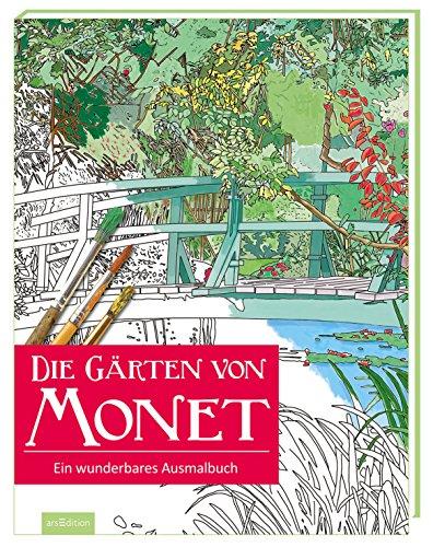 9783845815336: Die G�rten von Monet: Ein wunderbares Ausmalbuch