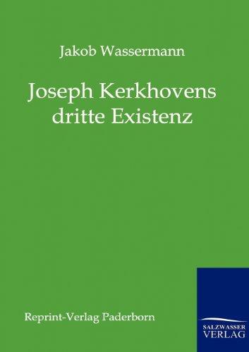 9783846000236: Joseph Kerkhovens dritte Existenz