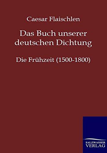 9783846002148: Das Buch Unserer Deutschen Dichtung