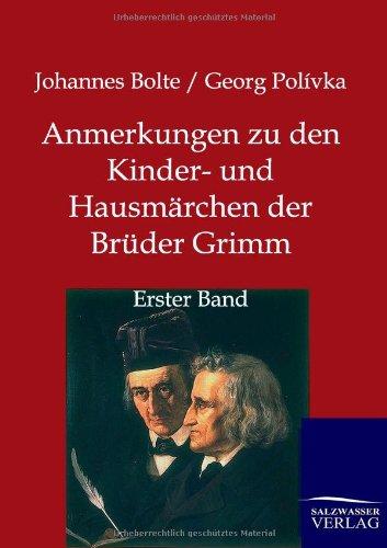 9783846002421: Anmerkungen zu den Kinder- und Hausmärchen der Brüder Grimm