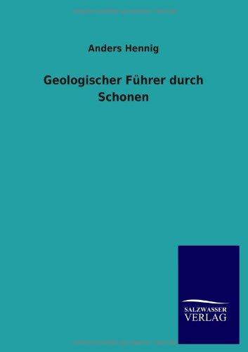 9783846005842: Geologischer F�hrer durch Schonen