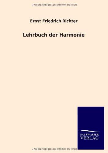 9783846007648: Lehrbuch der Harmonie (German Edition)