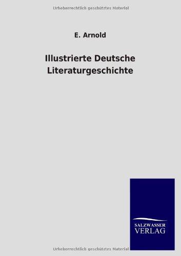 9783846010860: Illustrierte Deutsche Literaturgeschichte