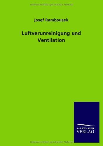 9783846011201: Luftverunreinigung und Ventilation