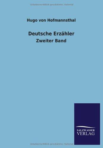 9783846018026: Deutsche Erzahler