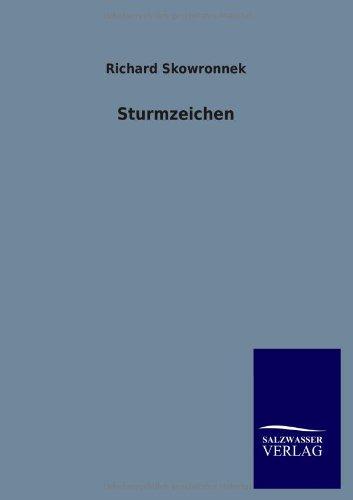 9783846021873: Sturmzeichen