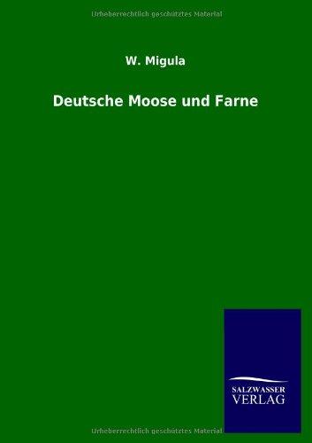 9783846022825: Deutsche Moose und Farne (German Edition)