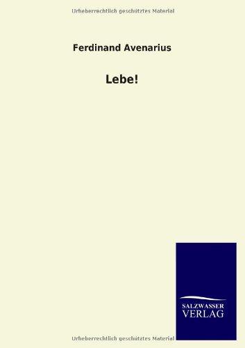 9783846022863: Lebe! (German Edition)