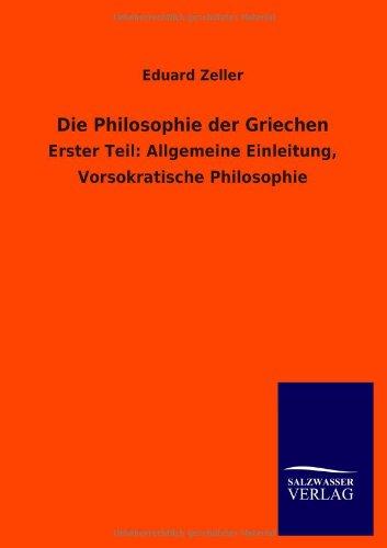Die Philosophie Der Griechen (Paperback): Eduard Zeller