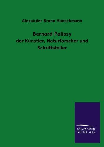 Bernard Palissy: Alexander Bruno Hanschmann