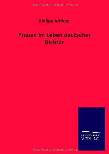 9783846027530: Frauen im Leben deutscher Dichter