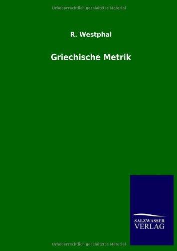 Griechische Metrik: R. WESTPHAL