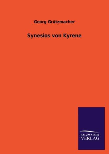 Synesios Von Kyrene: Georg Grutzmacher