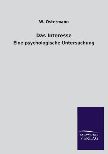 Das Interesse - W. Ostermann