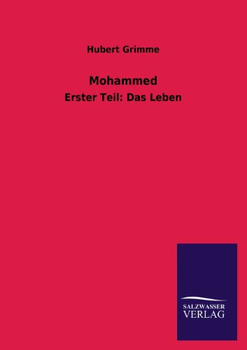 Mohammed: Hubert Grimme
