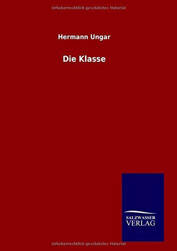 9783846063262: Die Klasse (German Edition)
